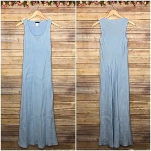 J. Crew Linen Sundress Maxi Dress